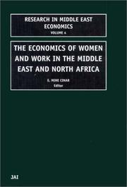 Cover of: The Economics of Women and Work in the Middle East and North Africa | M. Cinar