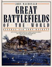 Cover of: Great battlefields of the world | Macdonald, John