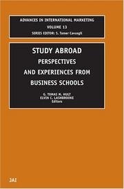 Cover of: Study Abroad |
