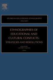 Cover of: Ethnographies of Education & Cultural Conflicts, Volume 9 |