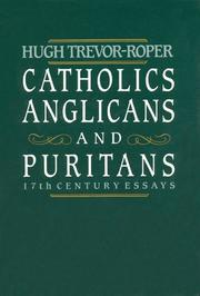 Cover of: Catholics, Anglicans, and Puritans