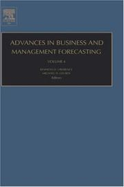 Cover of: Advances in Business and Management Forecasting, Volume 4 (Advances in Business and Management Forecasting) |