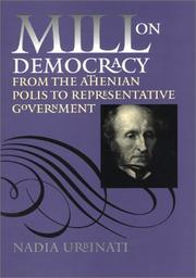 Cover of: Mill on Democracy