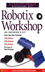 Cover of: The Robotix Workshop Handbook | Gregory Vogt