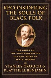 Cover of: Reconsidering the souls of black folk