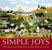 Cover of: Simple Joys | Jane Wooster Scott