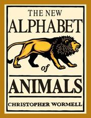 Cover of: The New Alphabet of Animals | Christopher Wormell