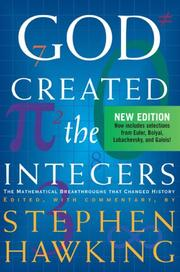 Cover of: God Created the Integers | Stephen W. Hawking
