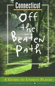 Cover of: Connecticut Off the Beaten Path | David Ritchie