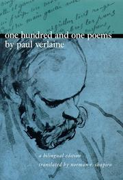 Cover of: One Hundred and One Poems by Paul Verlaine