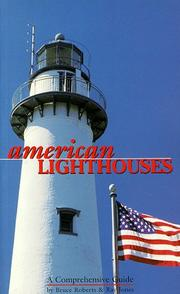 Cover of: American lighthouses