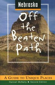Cover of: Nebraska Off the Beaten Path | Hannah McNally