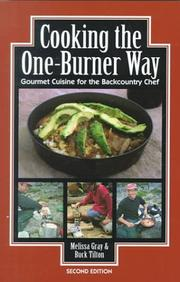 Cover of: Cooking the One Burner Way, 2nd (Cookbooks)