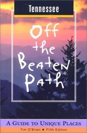 Cover of: Tennessee Off the Beaten Path