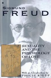 Cover of: Sexuality and the psychology of love