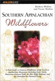 Cover of: Southern Appalachian Wildflowers | Barbara Medina