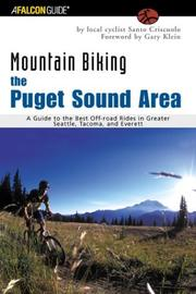 Cover of: Mountain Biking the Puget Sound Area | Santo Criscuolo