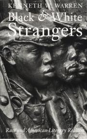 Cover of: Black and White Strangers | Kenneth W. Warren