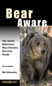 Cover of: Bear Aware, 3rd | Bill Schneider