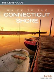 Cover of: Guide to the Connecticut Shore, 4th