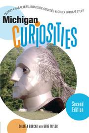 Cover of: Michigan Curiosities, 2nd | Colleen Burcar
