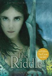 Cover of: The Riddle: The Second Book of Pellinor (Pellinor Series)