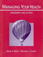 Cover of: Managing your health