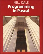 Cover of: Programming in Pascal