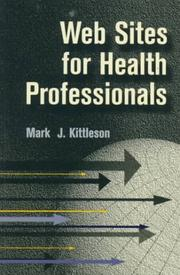 Cover of: Web sites for health professionals