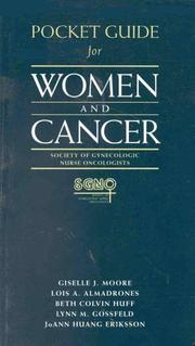 Pocket guide for Women and cancer by