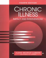 Chronic illness by Ilene Morof Lubkin