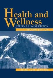 Cover of: Health and Wellness Journal Workbook