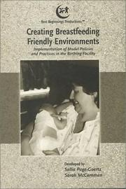 Cover of: Creating Breastfeeding Friendly Environments