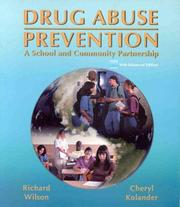 Cover of: Drug Abuse Prevention | Richard W. Wilson