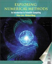 Cover of: Exploring Numerical Methods | Peter Linz