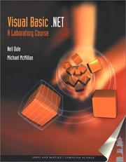 Cover of: VB.NET: A Laboratory Course