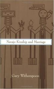 Cover of: Navajo kinship and marriage