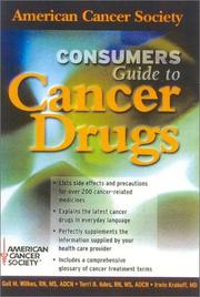 Cover of: American Cancer Society Consumer's Guide to Cancer Drugs, Second Edition (Jones and Bartlett Series in Oncology)