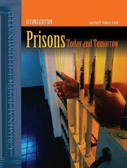 Cover of: Prisons |