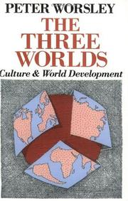 The three worlds by Peter Worsley