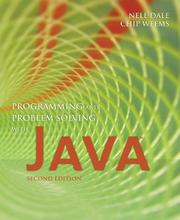 Cover of: Programming and Problem Solving with Java