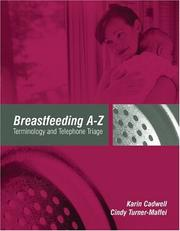Cover of: Breastfeeding A-Z | Karin Cadwell