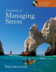 Cover of: Essentials of managing stress