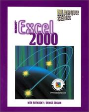 Cover of: Microsoft Excel 2000 (Marquee Series)