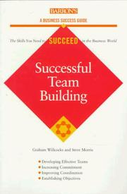 Cover of: Successful team building