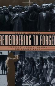 Remembering to Forget by Barbie Zelizer
