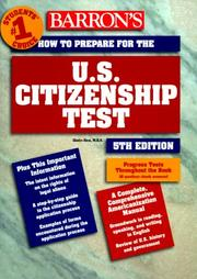Cover of: How to prepare for the U.S. citizenship test