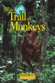 Cover of: On the trail of monkeys and apes