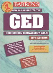 Cover of: How to Prepare for the GED