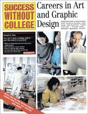 Cover of: Careers in Art and Graphic Design | Ronald A. Reis